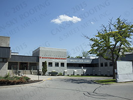 Modified bitumen flat roof replacement commercial roofing - Can-Sky Roofing and Sheet Metal Inc - FEATURED IMAGE
