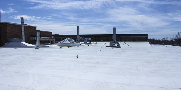 PVC roofing - Industrial flat roofing - Can-Sky Roofing and Sheet Metal Inc
