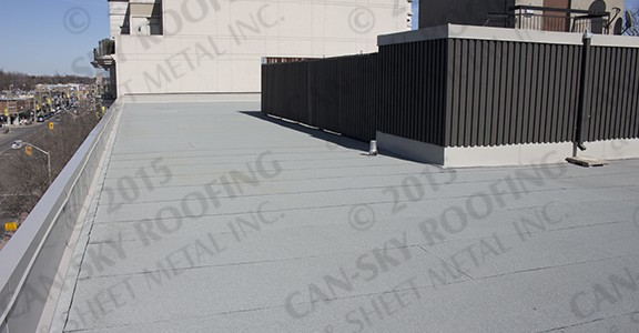 Modified Bitumen Roof Replacement - Commercial Roofing