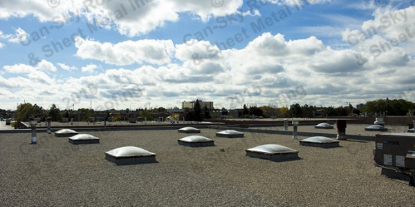 Tar and gravel - built-up roof 4-ply flat roof replacement - Vaughn, Ontario