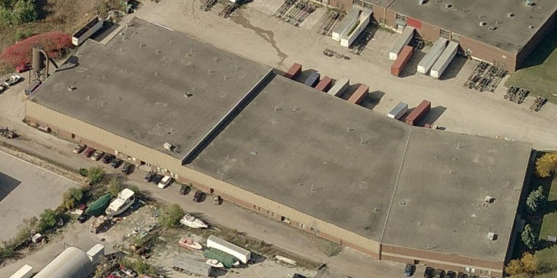 Industrial flat roofing Mississauga
