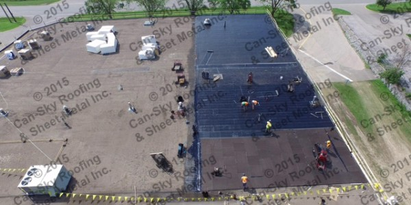 flat roof replacement Toronto