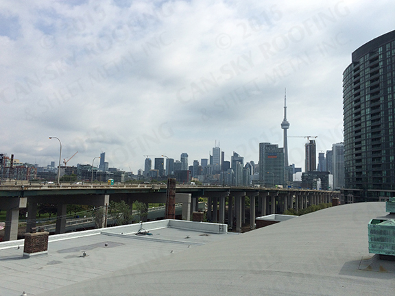 Full Roof Replacement Project Fort York Armory Toronto