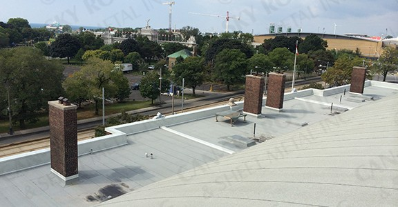 Fort York Armoury - Modified Bitumen Flat Roof Replacement Toronto