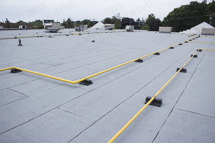 Shopping Plaza Toronto Ontario Can Sky Roofing