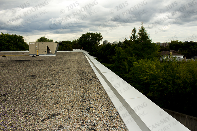 Commercial Plaza Toronto Ontario Can Sky Roofing