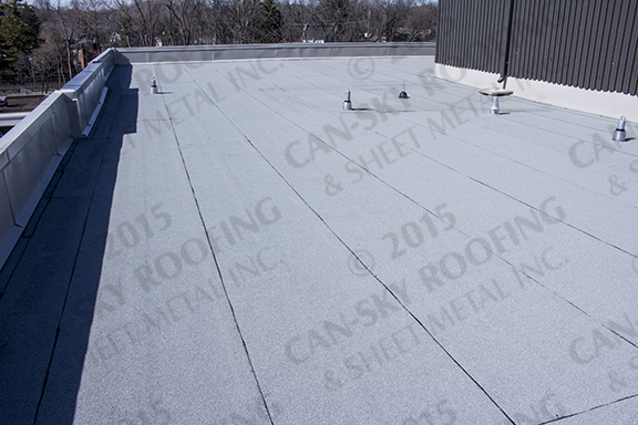 Medical Centre Toronto Ontario Can Sky Roofing
