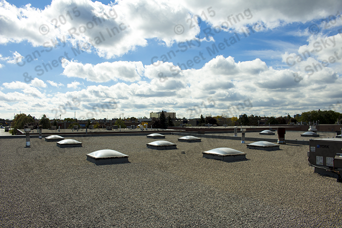 Commercial Property Vaughan Ontario Can Sky Roofing